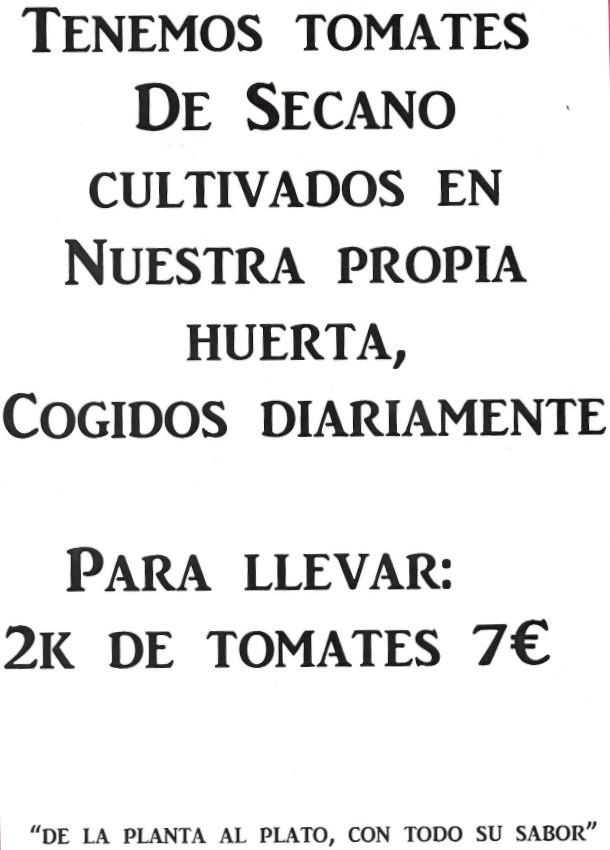 tomates de huerta